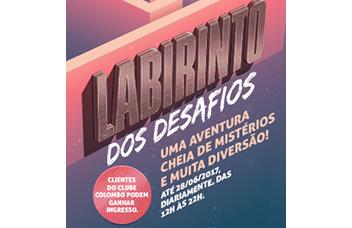 LABIRINTO DOS DESAFIOS
