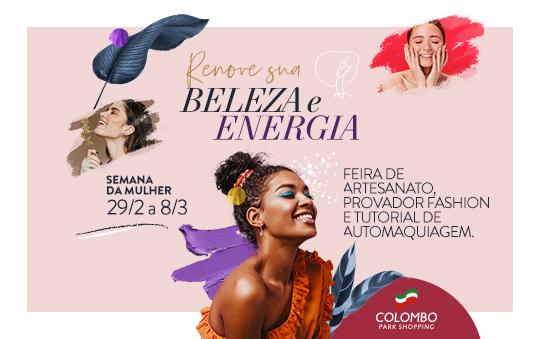 Semana da Mulher no Colombo
